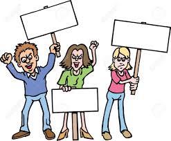 Bildergebnis für demonstration clipart