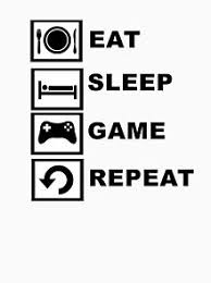 <b>Eat Sleep Game Repeat</b> Gifts & Merchandise | Redbubble