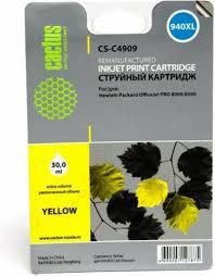Отзывы на <b>Cactus CS</b>-<b>C4909</b> №940, Yellow <b>картридж</b> струйный ...