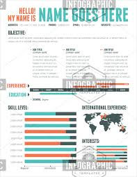 infographic resume template  clean  amp  professional    infographic resume template