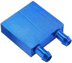ILS - 4040 0.5mm Blue Aluminum Alloy Water Cooling ... - Amazon.com