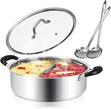 Kerykwan 304 Food Grade Stainless Steel Shabu ... - Amazon.com