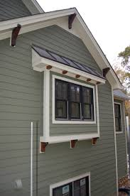 Decorative Windows For Houses Craftsman Exterior Trim Details Lots Of Exterior Touch Up