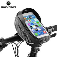 ROCKBROS <b>Cycling Bike Bicycle Phone Bag</b> 6.0 Inch Rainproof ...