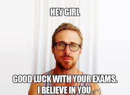 Ryan Gosling is cheering for you! ♥ Study! #studying #motivation ... via Relatably.com