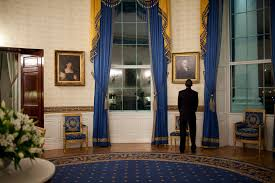 filebarack obama looking a portrait in the blue roomjpg blue room white