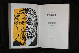center for book arts artist members at the ny art book fair barbara henry walt whitman s faces