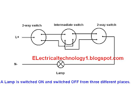 2 way switch how to control one lamp from three different places 2 way switch how to control one lamp from three different places