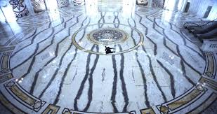 back to the futurist museum of american art a w in black sprawled on a marble floor