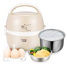 UNIQUEBELLA Mini Electric Pot <b>Multifunction Portable</b> Rice <b>Egg</b> ...