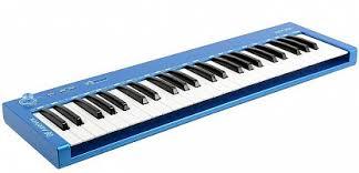 Купить <b>MIDI</b>-<b>КЛАВИАТУРА AXELVOX</b> KEY 49J BLUE с ...