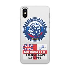 Чехол для <b>iPhone</b> X/XS, объёмная печать Millwall MSC Russia ...