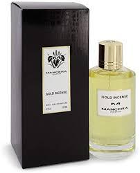 <b>Mancera Gold Incense</b> Eau De Parfum Spray by Mancera - 4 oz ...