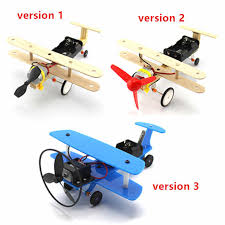<b>Electric Sliding Aircraft DIY</b> Education Kit Student Small Invention ...