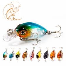 <b>Thritop Crankbait</b> Cute Fishing Lure High Quality Hook 45mm 4g ...