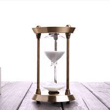15 Minutes <b>Hourglass Bronze</b> Ornaments Creative Birthday ...