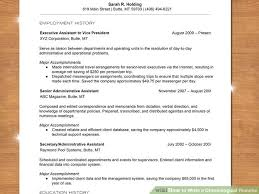 how to write a chronological resume    sample resume image titled write a chronological resume step