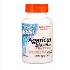 Doctor's Best <b>Agaricus Blazei With Bioperine</b>, 90 Veggie Caps ...