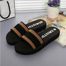 Shop Rose <b>Summer Women Shoes Platform</b> Bath Slippers Wedge ...