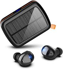 Hallomall Wireless Earbuds Solar, 160hrs Playtime Hi ... - Amazon.com
