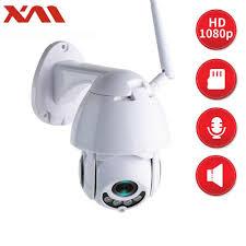 XM 1080P Wireless PTZ IP Camera Wifi CMOS Night Vision <b>H265+</b> ...
