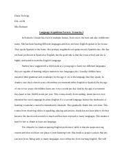 edu   educational psychology   grand canyon   course hero  pages diane tschopp language acquisition factors scenarios i essaydocx