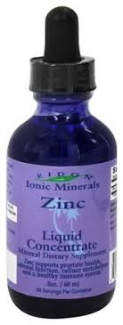 Eidon Mineral Supplements, <b>Ionic Minerals</b>, <b>Цинк</b>, Жидкий ...