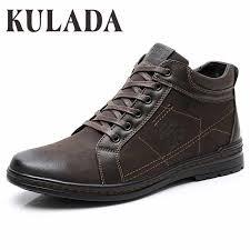 <b>KULADA</b> Hot Top Quality Men <b>Boots</b> Men <b>Winter</b> Thick Fur Ankle ...