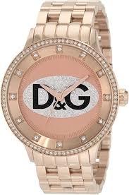 <b>D&G Dolce</b> & <b>Gabbana</b> Women's DW0847 Prime Time Triple Rose ...
