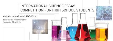 the deadline for the isec has now passed international science essay