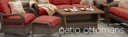 patio ottomans
