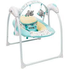 <b>Электрокачели Amarobaby Swinging</b> Baby, цвет: бирюзовый ...