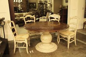 Round Dining Room Table Seats 12 Amazing Round Dining Room Table Seats 12 5 Distressed Country
