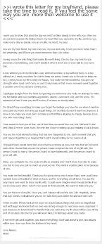 i wrote this letter for my boyfriend please take the time to >>i wrote this letter for my boyfriend please take the time to read