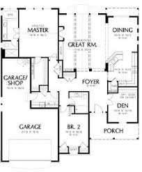 images about plans on Pinterest   Floor Plans  House plans    Two Car Garage Cottage Plan   AM   st Floor Master Suite  Butler Walk in Pantry  CAD Available  Cottage  Craftsman  Den Office Library Study  PDF