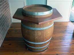 wine barrel outdoor furniture wine barrel hexagonal top barrel office barrel middot