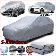 Halb- & Ganzgaragen XXL Full Car Cover <b>Effectively Block</b> Sun UV ...