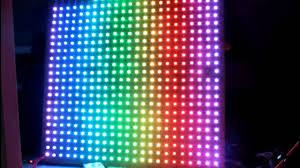 How to make <b>large</b> rgb <b>led display</b> at home DIY - YouTube