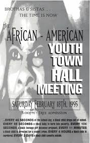 amoeblog > archive 1995 african american youth town hall meeting in san jose youth speakers city officials guests e 40 jt herm lewis