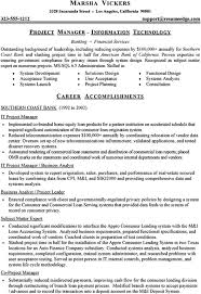 resume information technology   viobo resume  the real thingsample technical resume information technology project manager