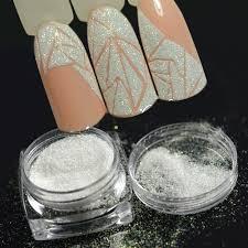 <b>New Fashion 1</b> Bottle Shining Nail Glitter Dust Sugar Coating Effect ...