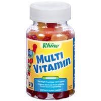<b>Rhino Multi Vitamin Gummies</b> Dietary Supplement (70 ct) - Instacart