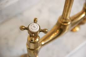 Found: The Perfectly Aged <b>Brass Kitchen Faucet</b> | Apartment Reno ...