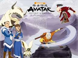 Avatar the last airbender aang katara sokka appa momo prince zuko