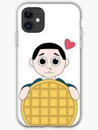 """<b>Stranger Things</b> Eleven <b>Cartoon</b> Eggo Waffle"" iPhone Case ..."