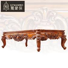 american furniture european solid wood carving coffee table tea office antique marble j6 teasideend antique office table