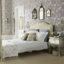 Shabby Chic Bedroom Wall Colors : Shabby chic bedroom ideas colorful high gloss two light grey walls