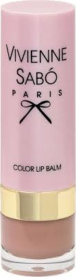 <b>Помада</b>-<b>бальзам</b> Vivienne Sabo <b>Color Lip</b> Balm, тон №04, 4 г ...