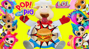 POP The <b>Pig</b> Game LOL Surprise Big <b>Sister</b> Big <b>Brother</b> Teams Toy ...