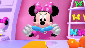 Mickey Mouse And Friends | Minnie's Bow-Toons - Minnie's First ...